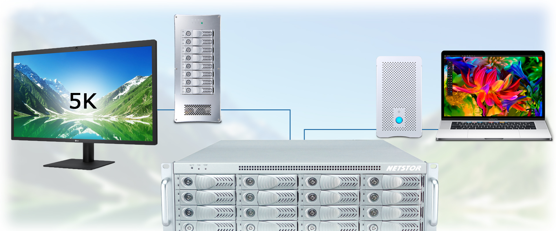 Thunderbolt 3 devices daisy-chain with NA333TB3