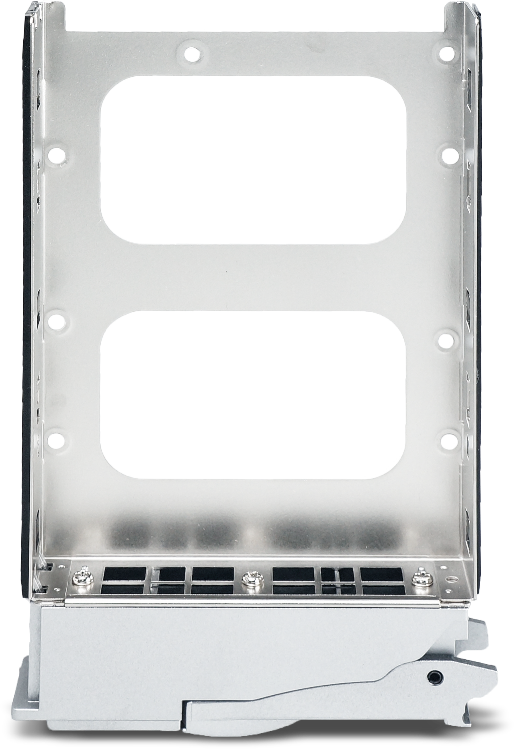 NA762TB3 drive tray support both 2.5 and 3.5 inches HDDs