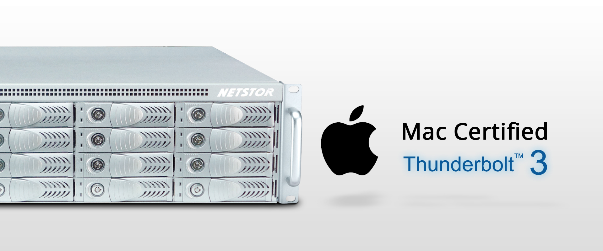 Netstor NA333TB3 has passed Apple's certification test process and is Mac certified.