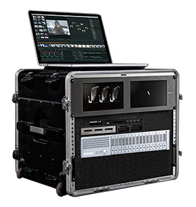 NA338TB3 – Blackmagic the best choice of transportable rack.