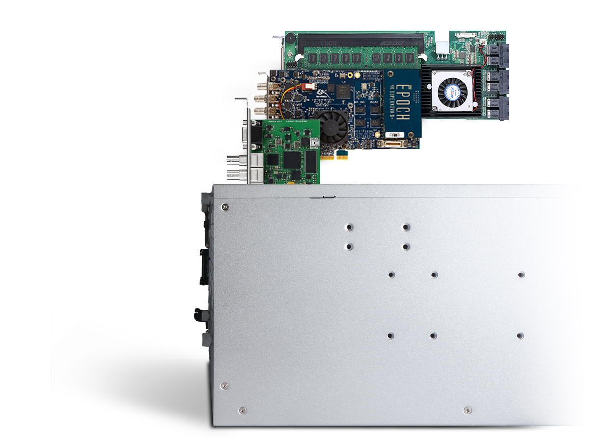 NA381TB3 provides 3 PCIe card slots that users can add RAID, video capture, video transcoding, audio accelerator, network card and so on